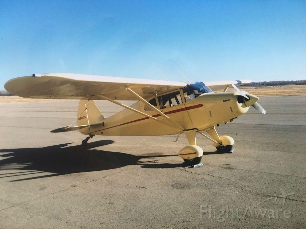 Piper PA-20 Pacer (N7413K) - KSTJ ramp