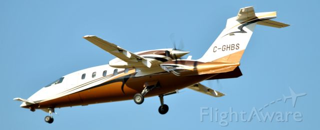 Piaggio P.180 Avanti (C-GHBS)