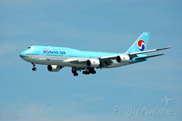 """BOEING 747-8 (HL7631) - """"Visit Korea"""""""