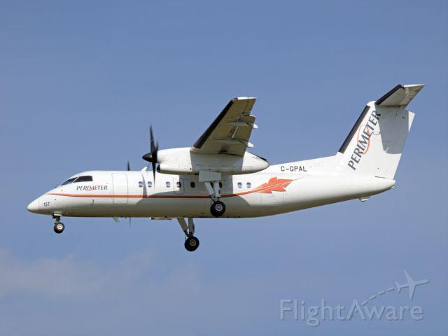 de Havilland Dash 8-200 (C-GPAL) - Spotting at CYWG / Winnipeg.