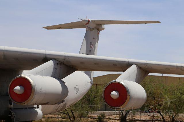 Lockheed C-141 Starlifter (67-0013) - Lockheed C-141B Starlifter at Pima Air and Space Museum, Tucson, AZ, 17 May 14.
