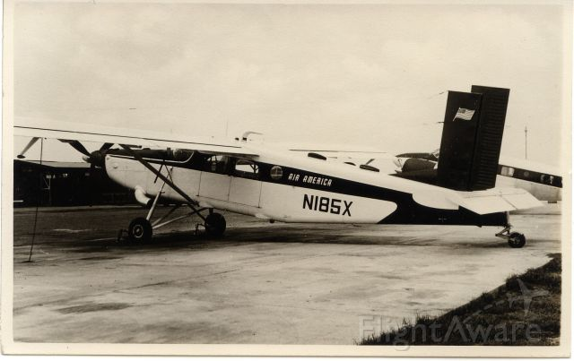 Cessna Skylane (N185X) - Bangkok Don Muang Airport,1960s
