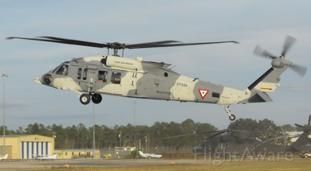 Sikorsky S-70 (02-7339) - Brand new UH-60 lifting off the pads