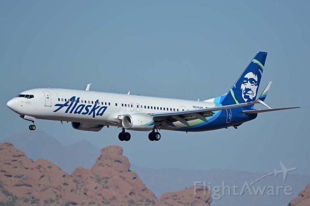 Boeing 737-900 (N274AK) - Alaska Boeing 737-900 N274AK at Phoenix Sky Harbor on February 6, 2018.