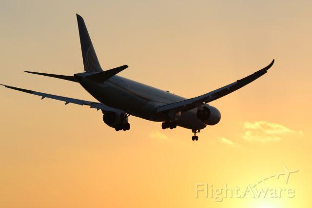 Boeing 787-8 (N27958) - Arriving RWY 27