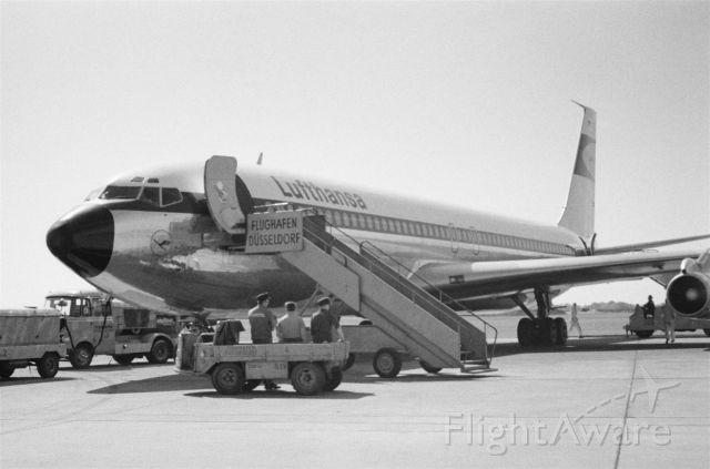 Boeing 707-300 (D-ABOX) - 1967 at Düsseldorf (EDDL)