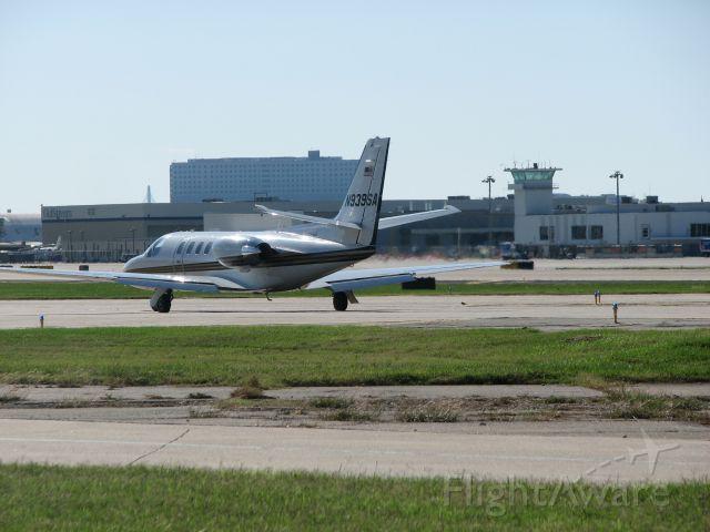 Cessna Citation II (N939SA) - N939SA departing Dallas for Marfa, TX