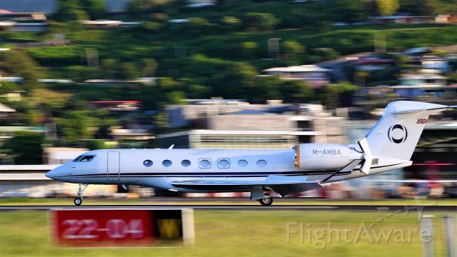 Gulfstream Aerospace Gulfstream G650 (M-AMBA)