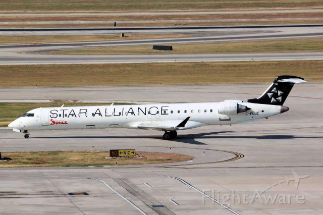 Canadair Regional Jet CRJ-700 (C-FUJZ) - Star Alliance Livery * Photo Taken September 1st, 2011