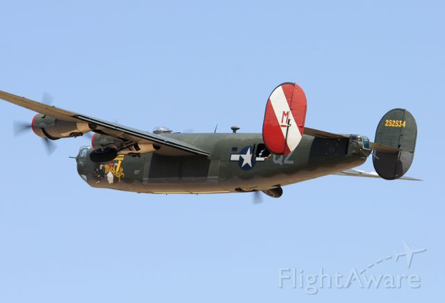 Consolidated B-24 Liberator (N224J) - Marana, AZ