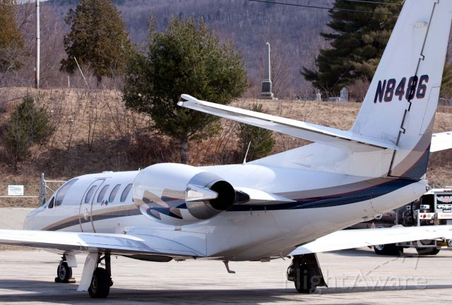Cessna Citation V (N8486)