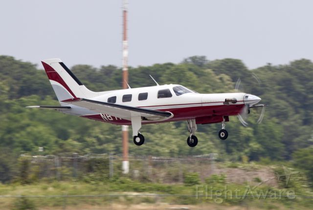 Piper Malibu Meridian (N87NF) - Powerful take off!