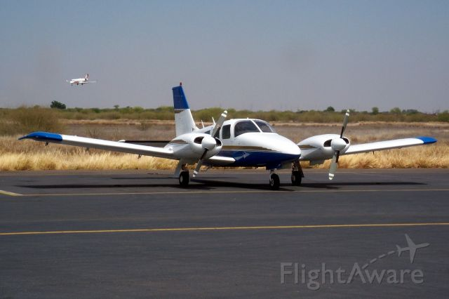 Piper Seneca (N4992F) - Fueling up before crossing to Baja CA.  Next stop San Felipe, then Brown to clear customs.