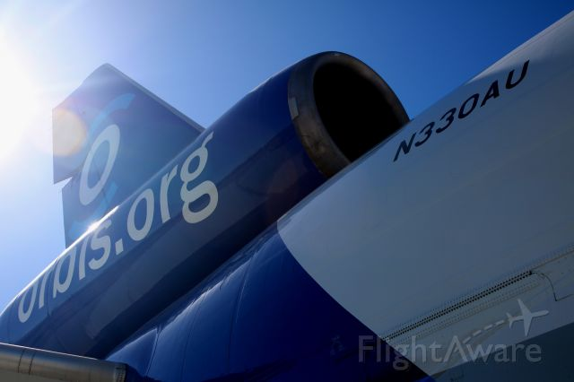 McDonnell Douglas DC-10 (N330AU) - Orbis,org Flying Eye Hospital, Readying for trip to Asia.