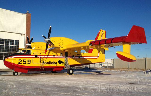 Canadair CL-415 SuperScooper (C-GMFX)