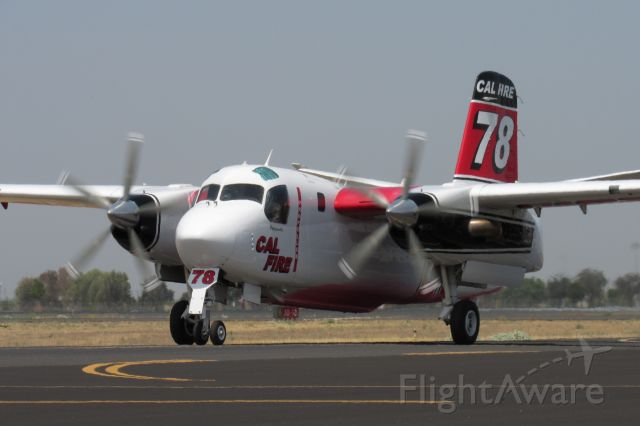 MARSH Turbo Tracker (N431DF) - N431DF taxiing to the base after a fire dispatch.