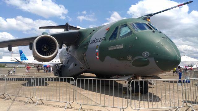 EMBRAER KC-390 (EMBRAER) - PORTÕES ABERTOS FAB 2019 – DCTA /São José Dos Campos-SP, 2019 Oct, 19 e 20br /br /SBSJ 121500Z 31004KT 9999 BKN025 27/19 Q1012