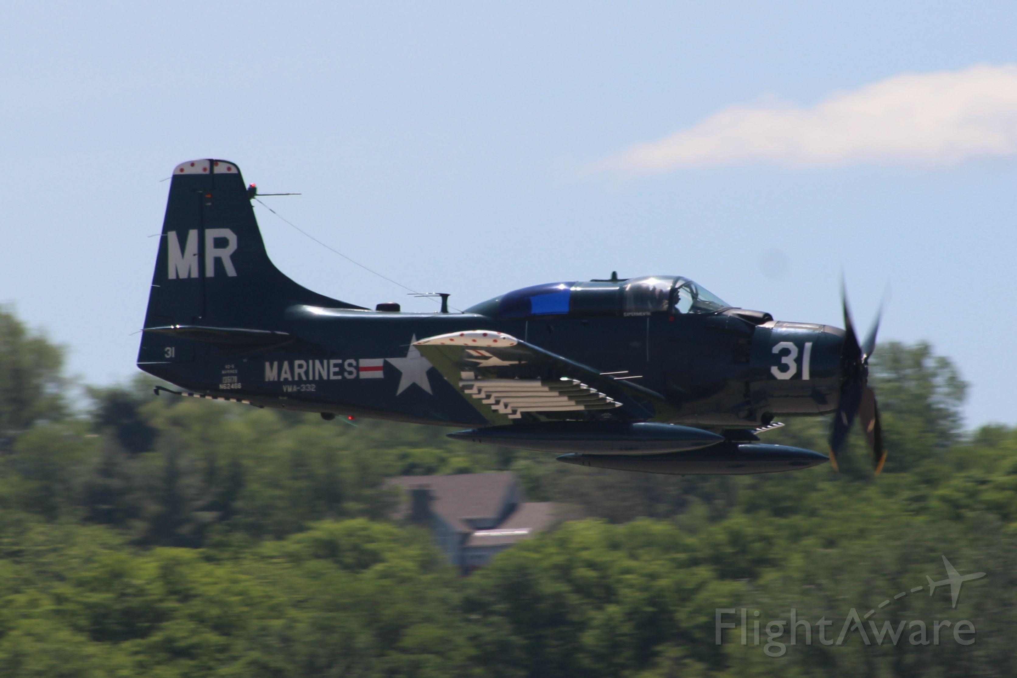Douglas AD Skyraider (N62466)
