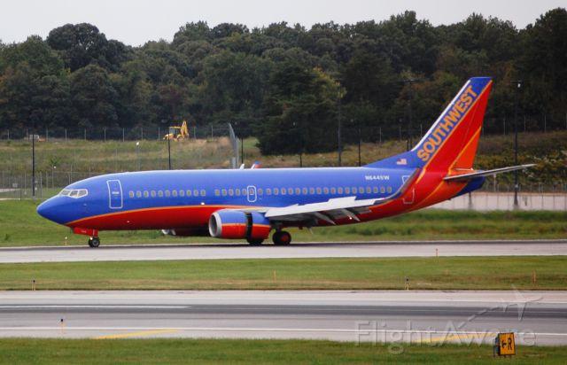 Boeing 737-700 (N644SW) - Taken on 9/26/09