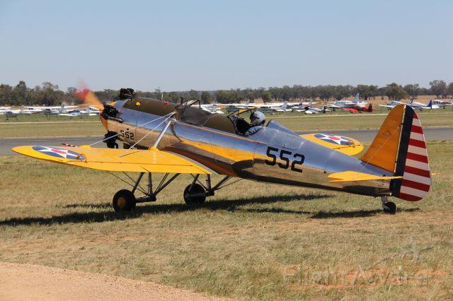 STEARMAN C-3 (VH-RPT) - Ryan ST3-KR<br />Manufactured in 1941, USA.<br />Photo: 21.11.2015