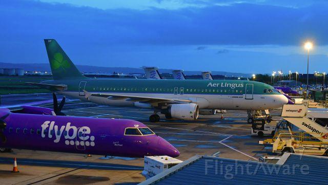 Airbus A320 (EI-EDP) - Aer Lingus Airbus A320-214 EI-EDP in Belfast City