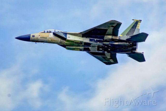 McDonnell Douglas F-15 Eagle — - A