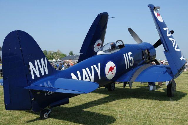 F-AZXJ — - Hawker Sea Fury