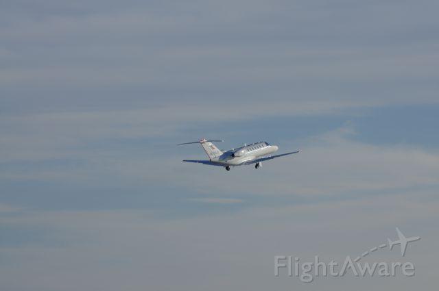 Cessna Citation CJ3 (N780JS) - Departing Kalb