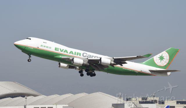 Boeing 747-400 (B-16482) - Departing LAX
