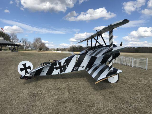 N23917 — - Fokker Tri Plane replica