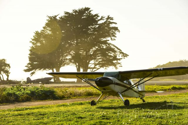 Piper PA-20 Pacer (N1596A) - Golden hour at Monterey Bay Academy CA66
