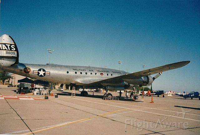 Lockheed EC-121 Constellation (N494TW) - Connie in MATS Marking at an EAA Fly In Air Show