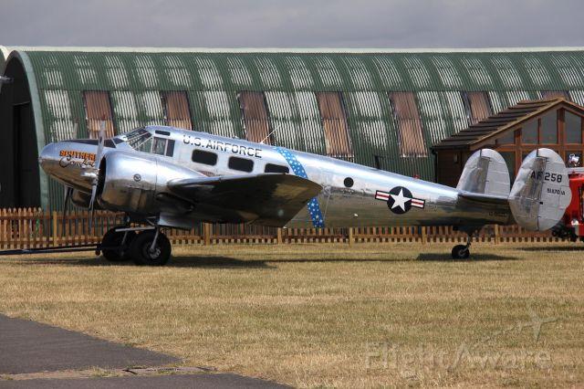 G-BSZC — - Beech C-45H Expeditor<br />Photo: 11.07.2015