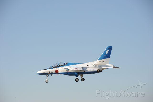 KAWASAKI T-4 (16-5666) - 2.Nov.2018 Blue Impulse #6