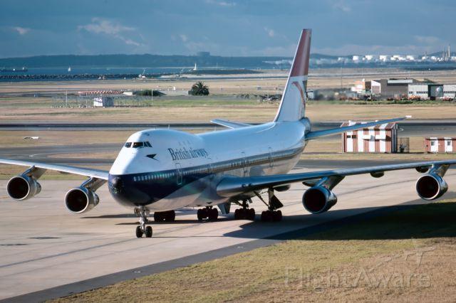 BOEING 747-100 (G-AWNH) - BRITISH AIRWAYS - BOEING 747-136 - REG : G-AWNH (CN 20270/169) - KINGSFORD SMITH INTERNATIONAL AIRPORT SYDNEY NSW. AUSTRALIA - YSSY 25/7/1977