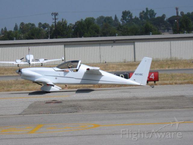 Experimental 100kts (N931BE) - Taxiing at Fullerton