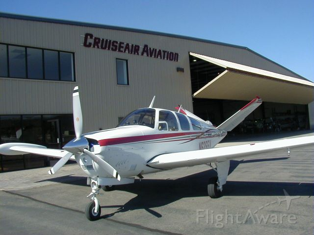 Beechcraft 35 Bonanza (N6265V) - At Cruiseair shop Ramona California