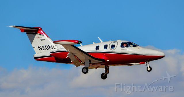 Eclipse 500 (N80NE) - N80NE 2007 Eclipse SE  EA500 s/n 000011 - North Las Vegas Airport (IATA: VGT, ICAO: KVGT, FAA LID: VGT)br /Photo: Tomas Del Corobr /October 17, 2016