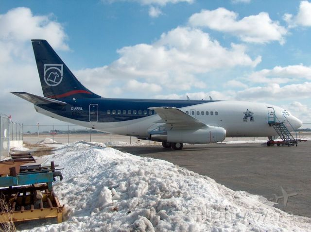 Boeing 737-200 (C-FFAL) - Xstrata Nickel