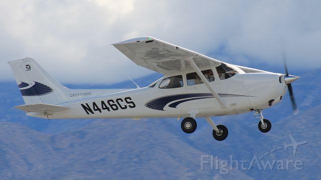 Cessna Skyhawk (N446CS) - Seen from the Palm Springs Air Museum.