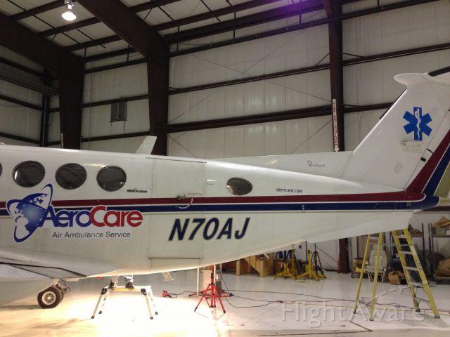 Beechcraft Super King Air 200 (N70AJ)