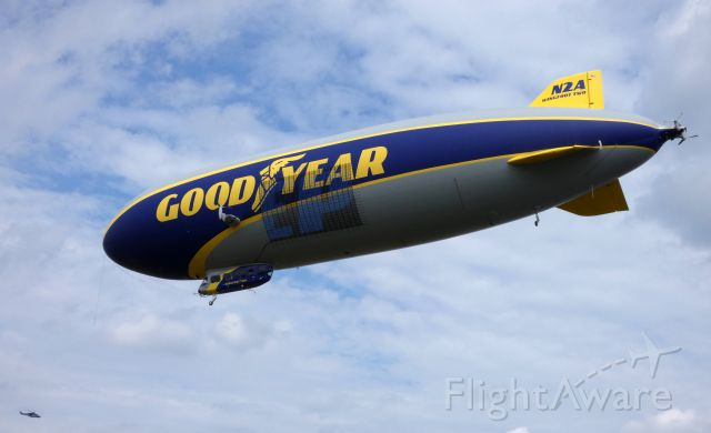 Unknown/Generic Airship (N2A) - Moment to landing is this 2016 Goodyear Blimp in the Summer of 2019 servicing for the most part the Eastern part of the United States.