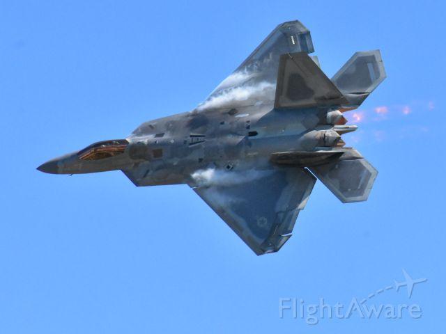 Lockheed F-22 Raptor — - The Raptor!