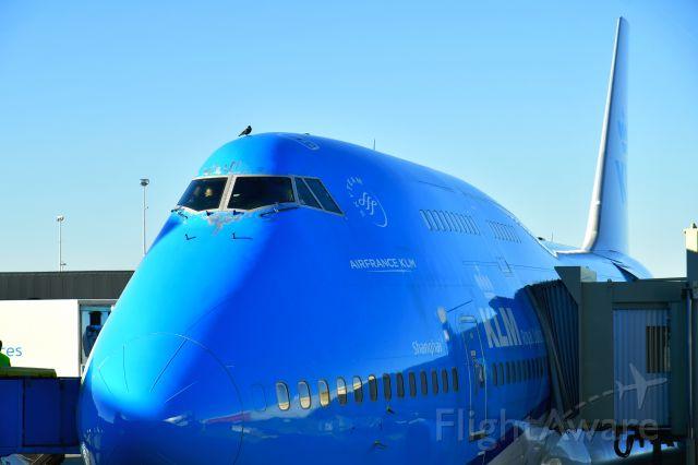 Boeing 747-400 (PH-BFW) - KLM Royal Dutch Airlines Boeing 747-406(M) PH-BFW in Amsterdam