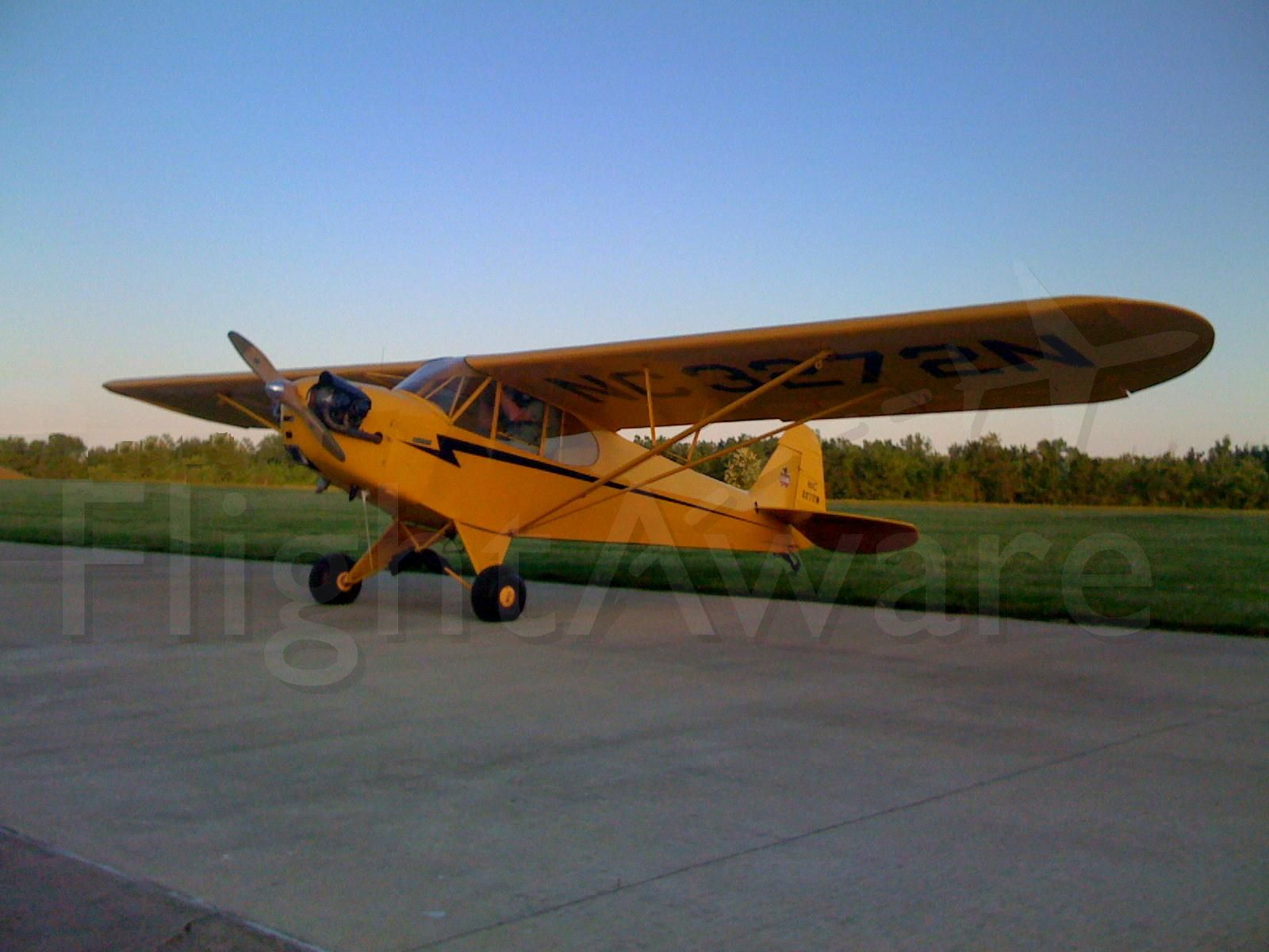 NC3272N — - Cub at the Lawrence County Airpark - Ohio KHTW