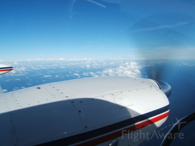 Piper PA-30 Twin Comanche (N8266Y) - At 11,000ft on the way to the Bahamas.