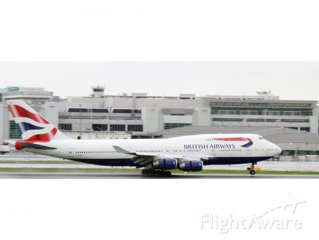 Boeing 747-400 (G-BYGE) - Raw photo courtesy of LEARJETMIAMI - thank you!