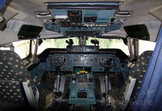 Antonov An-225 Mriya (UR-82060) - Antonov Design Bureau AN-225 Mriya UR-82060 - Antonov Airlines at IAH  (Nose is up for loading)