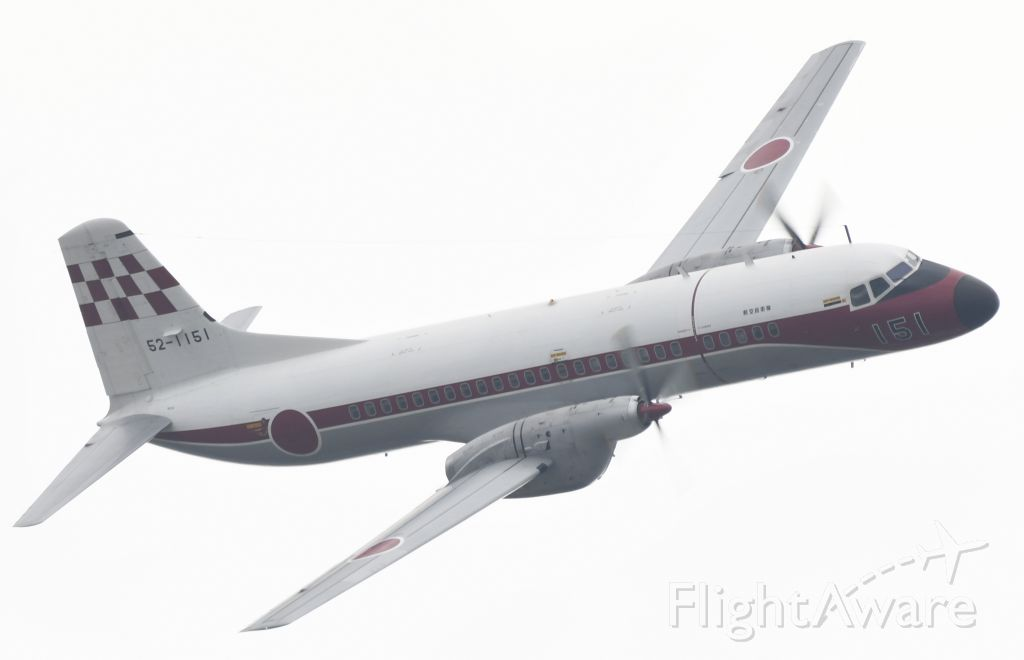 NAMC (1) YS-11 (52-1151) - November 3, 2019br /Air Festival at Iruma Air Force Basebr /Conditions are cloudy !!br /This YS-11 belongs to the Flight Check Squadron !!br /There is only a little time left until retirement !!