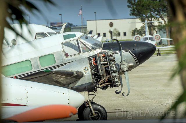 Beechcraft 18 — - New prop reduces engine vibration. Haha, uhmmm...ya I dont think so.